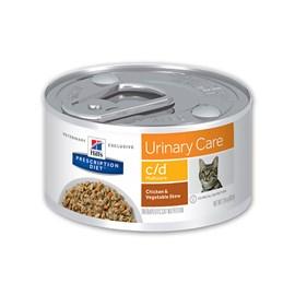 Ração Hills Feline Multicare Prescription Diet C/D - Lata 82g