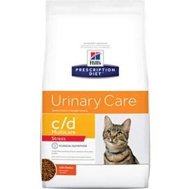 Ração Hills Feline Prescription Diet C/D Stress Cuidado Urinário 1.8kg