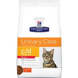 Ração Hill's Feline Prescription Diet C/D Stress Cuidado Urinário