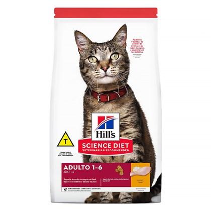 Ração Hill's Science Diet Feline Adulto Cuidado Excelente