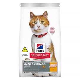 Ração Hill's Sterelized Frango para Gatos Adultos Castrados 3kg