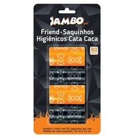 Refil Sacos com 4 rolos Friend Jambo