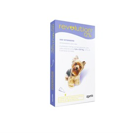 Revolution 12 Roxo Bis 0,25 Ml Cães