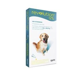 Revolution 12 Verde Bis 2 Ml Cães