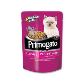 Sache Premium Primogato Peru e Frango Filhotes 85gr