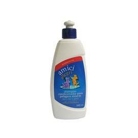 Shampoo Condicionador p/ Pelagens escuras caes/gatos 340 ml