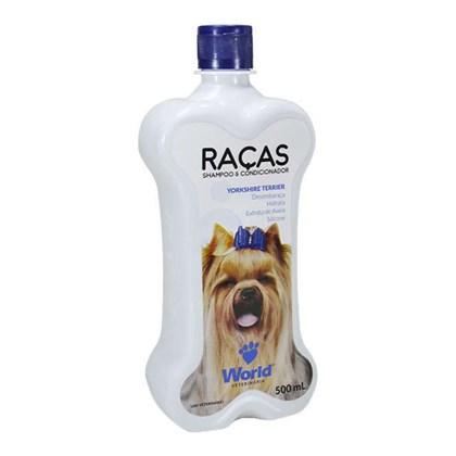 Shampoo e Condicionador para Yorkshire Terrier - World Raças 500ml
