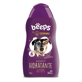 Shampoo Hidratante Pet Society Beeps Estopinha 500ml