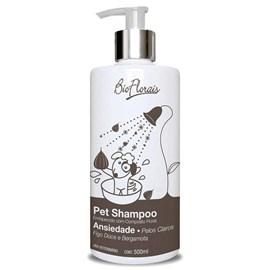 Shampoo para Ansiedade Pelos Claros 500 ml - Bio Florais