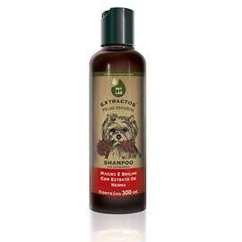 Shampoo para cães com pelos escuros - Henna - 300 ml