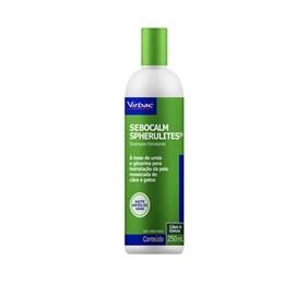 Shampoo Virbac Sebocalm Spherulites para Seborreia - 250 mL