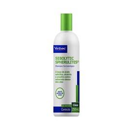 Shampoo Virbac Sebolytic Spherulites para Seborreia - 250 mL
