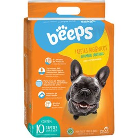 Tapete Higiênico Beeps Training Pet Society - 30 unidades