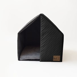 The House Black Beds for Pets - Matelassê